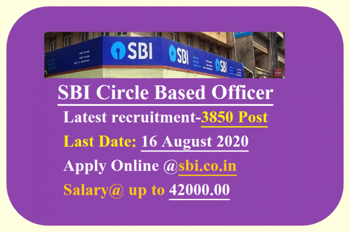 SBI Circle Based Officer