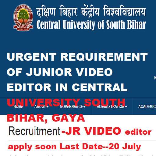 junior video editor in central university