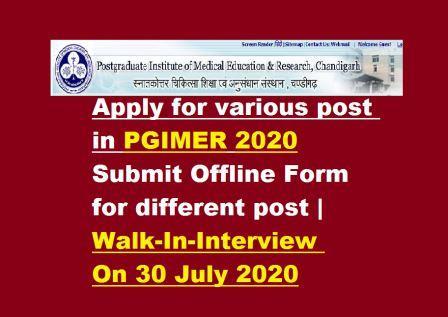 pgimer 2020