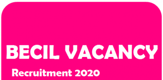 BECIL Manager Clerk Accountant Recruitment