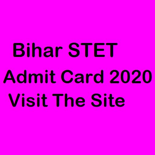 Bihar STET Admit Card