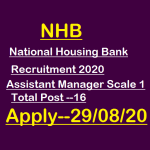 NHB Assistant Manager