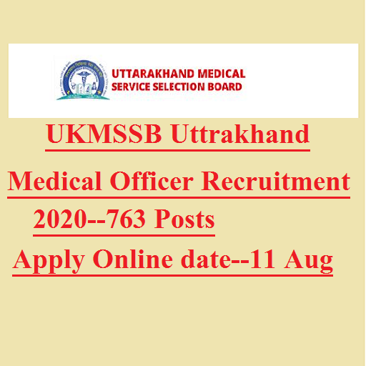 Uttrakhand medical officer recruiment