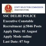 delhi police executive constable
