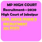 MP High Court Civil Judge