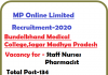 MP Staff Nurse Pharmacist in BMC