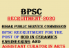 BPSC Recruitment 2020 for HOD, Assistant Curator and Others
