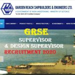GRSE Supervisor Recruitment 2020