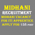MIDHANI Recruitment 2020 Apply for 158 ITI Apprentice