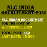 NLC India Apprentice Recruitment 2020