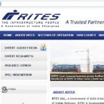 RITES Engineer Recruitment 2020