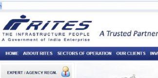 RITES Engineer Recruitment 2020