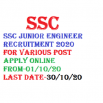SSC Junior Engineer JE