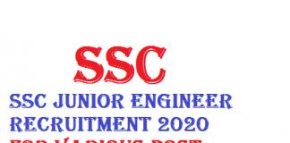 SSC Junior Engineer JE