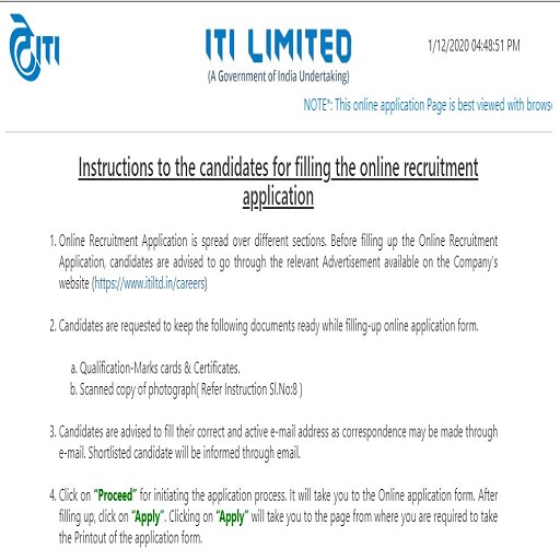ITI Limited Raibareli