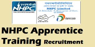 NHPC Apprentice Recruitment 2020