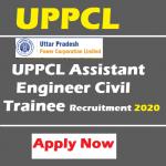 UPPCL Assistant Engineer Civil Trainee