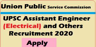 UPSC Assistant Engineer 2020