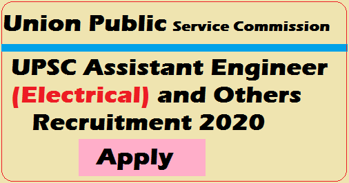 UPSC Assistant Engineer 2020