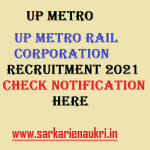 up metro rail recruitment 2021
