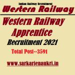Western Railway Apprentice Recruitment