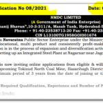 NMDC Engineer 2021