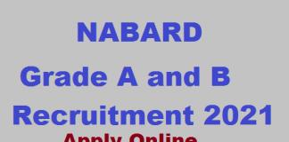 Nabard Grade A B 2021
