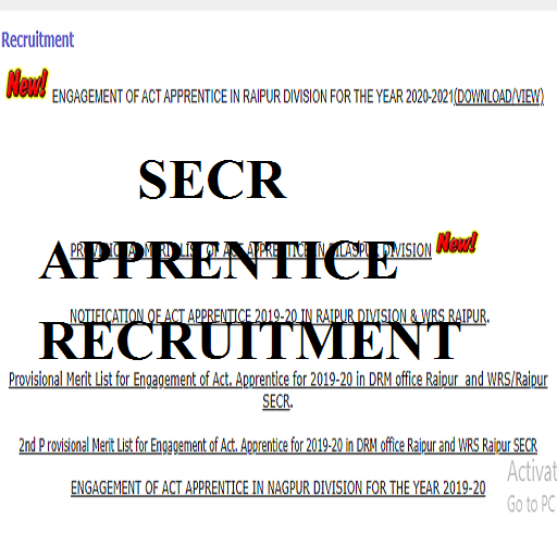 SECR apprentice recruitment 2021
