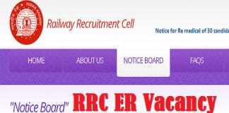 RRC ER Apprentice 2021